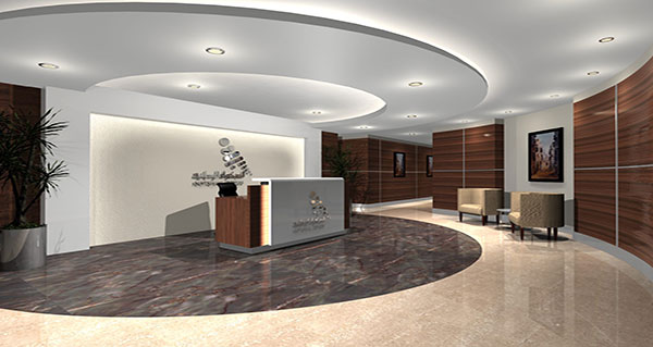 Office Interiors - Reception